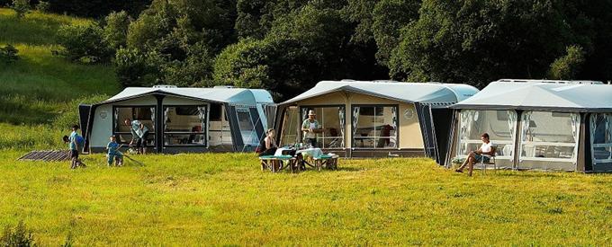 Campingbordet er campingferiens store samlingssted